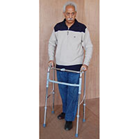 Walk Aid Folding Adjustable Physiotherapy Equipment