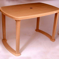 Plastic Dining Table-5000