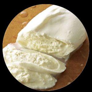 Burrata buttered