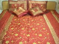 Silk Embroidered Bed Covers