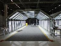 Vehicle Surface Inspection Canopy