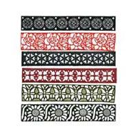 Henna Reusable Rubber Stencil