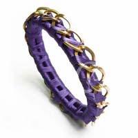 Alloy Metal Thread Fashion Bangle (23522)