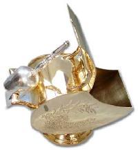 Brass Sugar Pot