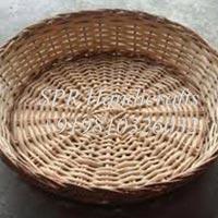 Round Cane Basket without Handle
