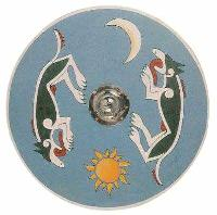 Viking Dragon Shield
