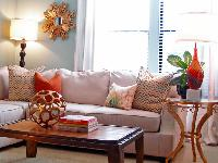 colored home furnishings accessories
