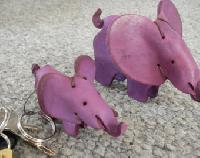 handmade leather toys