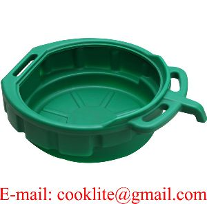 15 Litre Pe Plastic Oil Recycler Drain Pan Fluid Water Drip Tray
