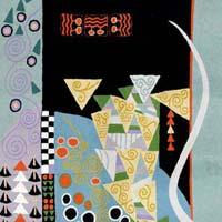 Chain Stitched Klimt Rugs