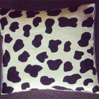 Hand Embroidered Crewel Pillow