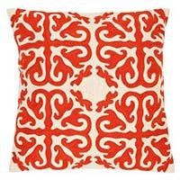 Handmade Crewel Wool Pillow