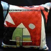 Kandinsky Silk Pillows
