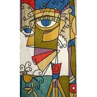 Picasso Chain Stitch Rug