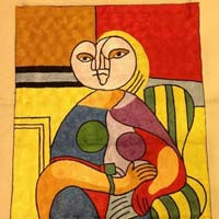 Silk Picasso Rugs