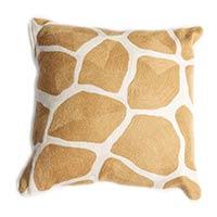 Wool Crewel Pillow