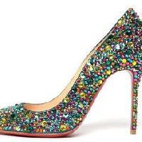 Ladies Beaded Shoes