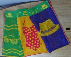 Double Jacquard Beach Towels