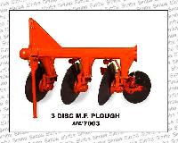 M.F. Disc Plough