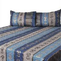 Designer Bed Covers - Blue Stripe