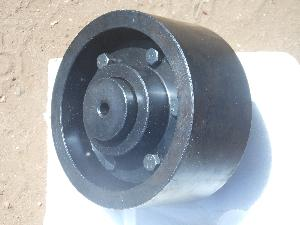 Brake Drum With Flexible Gear Couplings