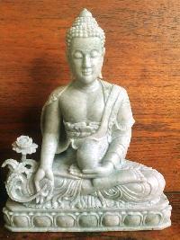 gemstone buddha statues