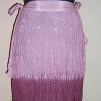 Cotton Crocheted Long Designer Ombre Dye Skirts