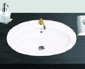 Oval Over Counter Table Top Wash Basin