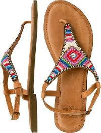 Beaded Ladies Sandals