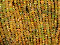 Ethiopian Welo Fire Opal Beads