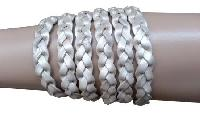 Braided Flat Leather Cord