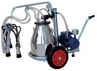 Mobile Milking Machines With Single Can
