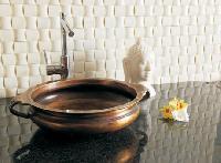 metal basin