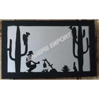 Man in Desert Wall Decor