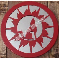 Wolf  Wall Decor- Round
