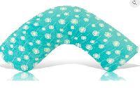 Teal Dandelion Bosom Baby Nursing Pillow