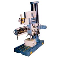 Semi Geared Radial Drill Machine