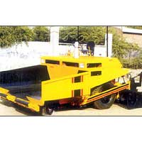 Industrial Paver Finisher