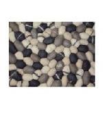 Handmade Wool Pebbles Carpets