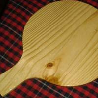 Wooden Pizza Bat