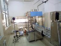 Semi Automatic Bottle Rinsing Machine