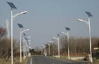 Solar Street Light Poles