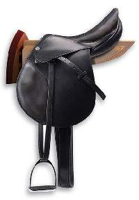 Hannover Leather Saddle Rack