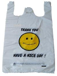 Plastic T Shirt Bag
