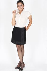 Mini Wrap Around Skirt