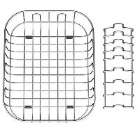 Quatro Stainless Steel Draining Basket
