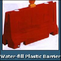 Water Fill Plastic Barrier