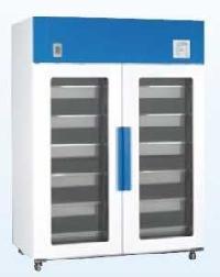 Glass Blood Bank Refrigerator