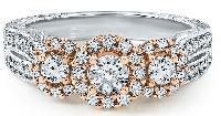 THREE-STONE DIAMOND ANNIVERSARY RING