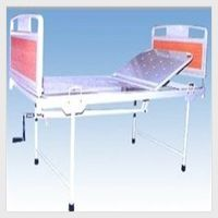 Hospital Semi-Fowler Bed with Plastic Panel